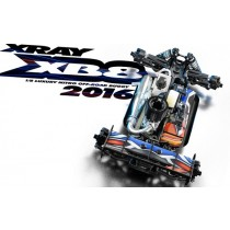 XRAY XB8 - 2016 SPECS - 1/8 LUXURY NITRO OFF-ROAD CAR