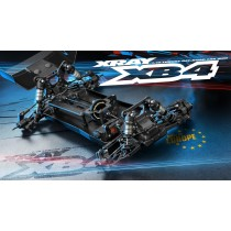 XRAY XB4 - 2016 SPECS - 4WD 1/10 ELECTRIC OFF-ROAD CAR